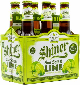 Shiner Sea Salt and Lime 6pk 12oz Btl