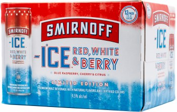 Smirnoff Ice Red White and Berry 12pk 12oz Can