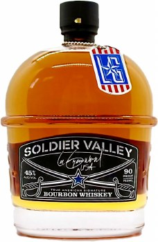 Soldier Valley American Bourbon Whiskey 750ml