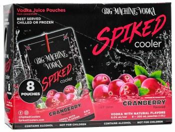 Big Machine Spiked Cooler Cranberry 8pk 200ml