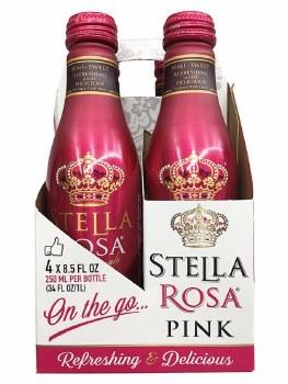 Stella Rosa Pink 4pk 250ml Can