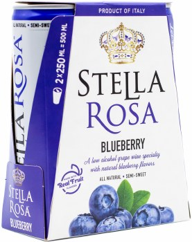 Stella Rosa Blueberry 2pk 250ml Can