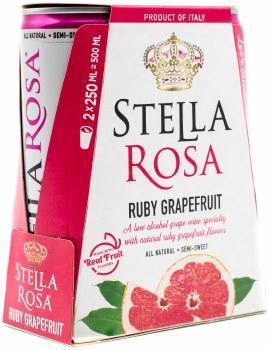 Stella Rosa Ruby Grapefruit 2pk 250ml Can