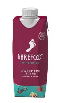 Barefoot Sweet Red Blend 500ml