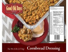 Good Old Days Cornbread Dressing 6lbs