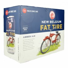 New Belgium Fat Tire Belgian Style Ale 12pk 12oz Can