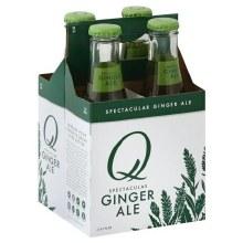 Q Ginger Ale 4pk 6.7oz Btl