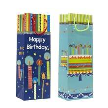 Happy Birthday Wine Gift Bag (2 Styles)