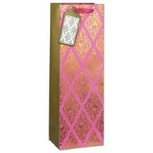 Rose Glam Wine Gift Bag