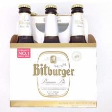 Bitburger Pilsner 6pk 12oz Bottle