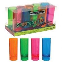 Neon Shot Glasses 2oz 10pk