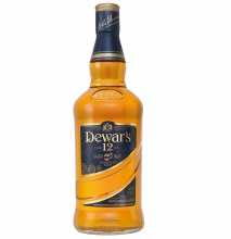 Dewar's 12 Year Double Aged Blended Scotch Whisky 750ml