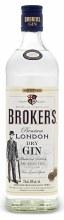 Brokers Premium London Dry Gin 1.75L