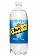 Schweppes Club Soda 1L Btl