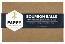 Pappy Handmade Bourbon Balls 12 Piece