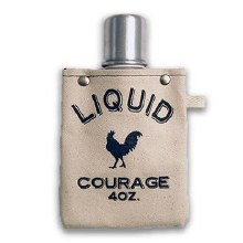 Liquid Courage 4oz Flask