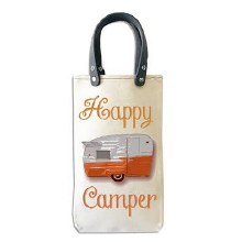Happy Camper Wine Carrier