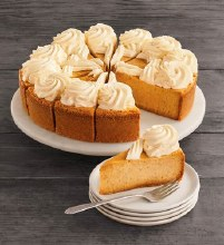 The Cheesecake Factory Pumpkin Cheesecake 10""