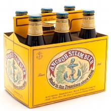 Anchor Steam Beer 6pk 12oz Btl