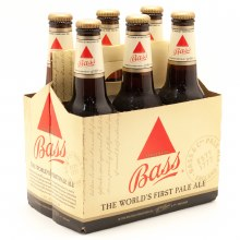 Bass Pale Ale 6pk 12oz Btl