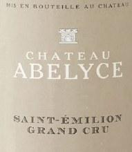 Chateau Abelyce Saint-Emilion Grand Cru 750ml