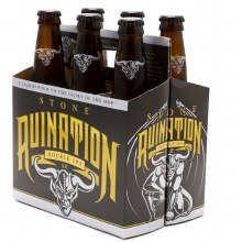 Stone Ruination Double IPA 2.0 6pk 12oz Btl