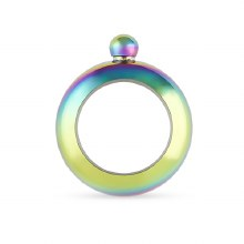 Charade: Rainbow Bracelet Flask