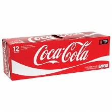 Coca Cola  12pk 12oz Can
