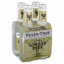 Fever Tree Ginger Beer 4pk 200ml Btl