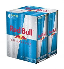 Red Bull Sugarfree Energy Drink 4pk 8oz Can