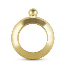 Charade: Gold Bracelet Flask
