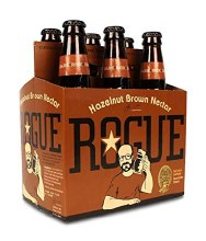 Rogue Hazelnut Brown Nectar 6pk 12oz Btl