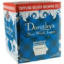 Toppling Goliath Dorothys New World Lager 4pk 16oz Can