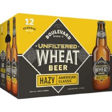 Boulevard Unfiltered Wheat Beer 12pk 12oz Btl