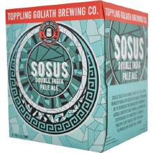 Toppling Goliath Sosus Double IPA 4pk 16oz Can