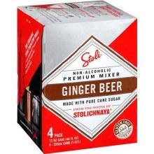 Stoli Ginger Beer 4pk 12oz Can