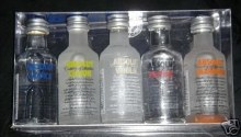Absolut Assorted Flavors Gift Pack 5pk 50ml