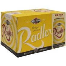 Boulevard Ginger Lemon Radler 6pk 12oz Can