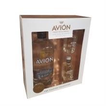 Avion Silver Tequila Gift Set 750ml