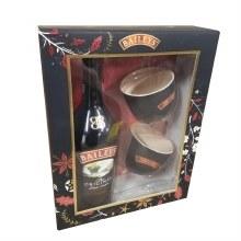 Baileys Original Irish Cream Liqueur Gift Set 750ml
