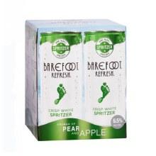 Barefoot Refresh Crisp White Spritzer 4pk 250ml Can