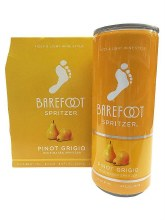 Barefoot Pinot Grigio Spritzer 4pk 250ml Can