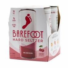 Barefoot Cherry Hard Seltzer 4pk 250ml Can