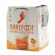 Barefoot Peach Hard Seltzer 4pk 250ml Can