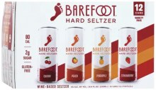 Barefoot Hard Seltzer 12pk 250ml Can