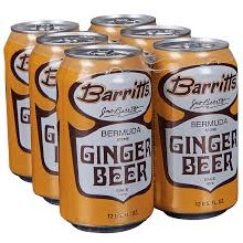 Barritts Ginger Beer 6pk 12oz Can