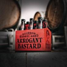 Bourbon Barrel-Aged Arrogant Bastard Ale 6pk 12oz Btl