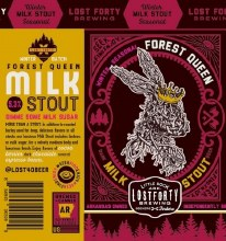 Lost Forty Forest Queen Milk Stout 6pk 12oz Can