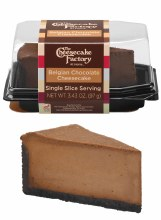 The Cheesecake Factory Belgian Chocolate Single Slice Slice