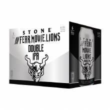 Stone Fear. Movie. Loins. Double IPA 6pk 16oz Can